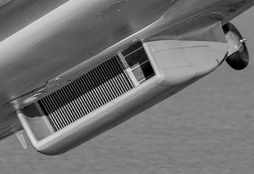 Spitfire radiator