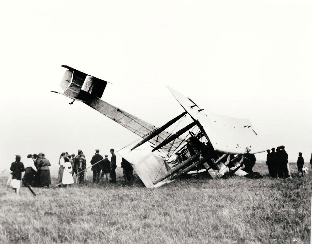 Alcock Brown landing