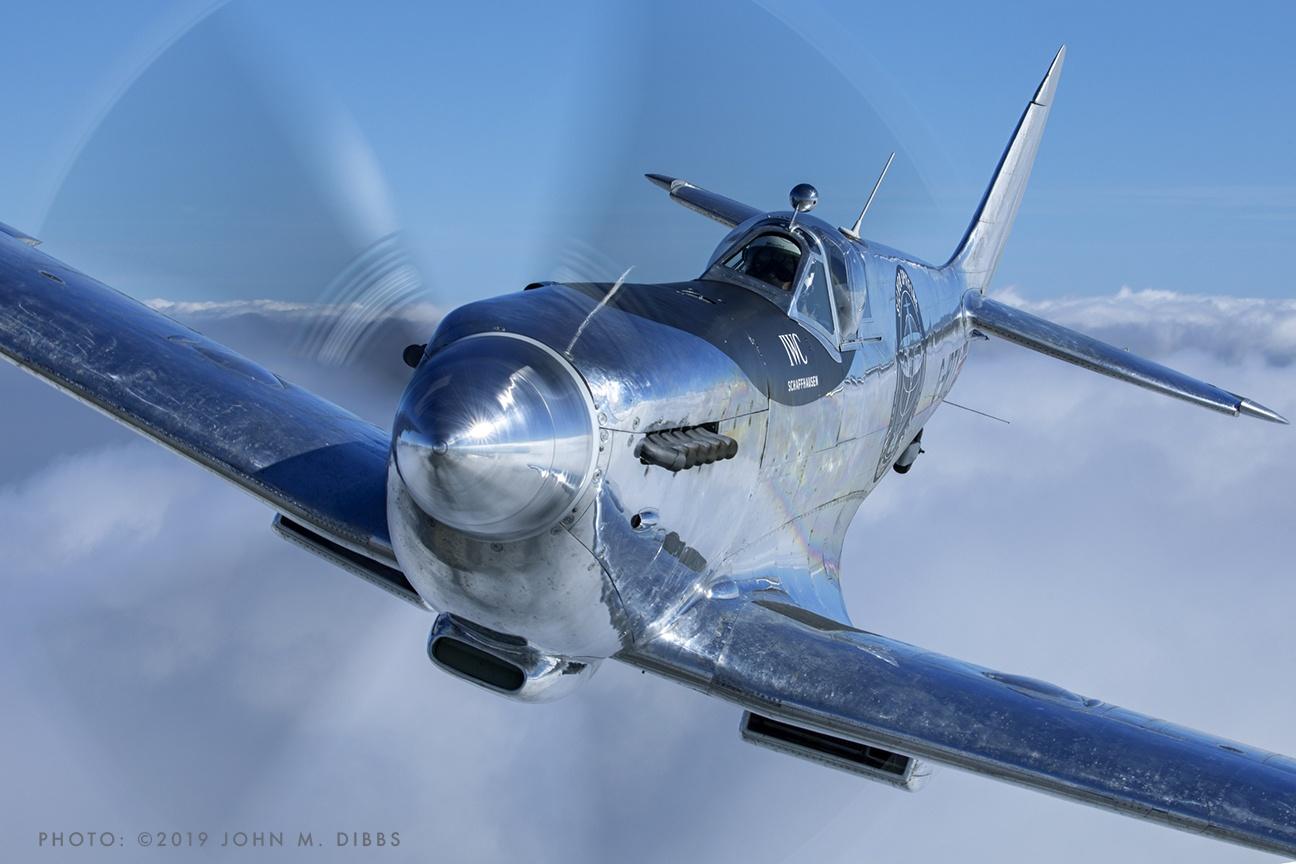 Boultbee Flight Academy - Silver Spitfire